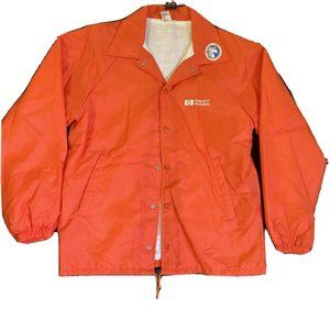 HP Hewlett Packard Windbreaker Jacket Employee